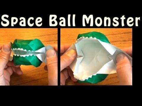 Fold an Origami Squishy Blob! Designed by Jeremy Shafer - YouTube   360x480