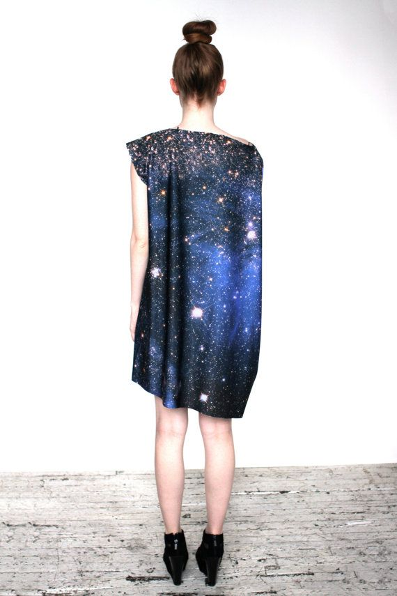 Magellanic Cloud Nebula Spandex Dress by Shadowplaynyc on Etsy, 175.00