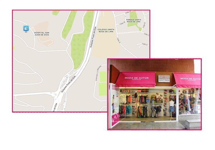 Tienda DETALLES DE AUTOR Ubicación: Valle Arriba Market Center, Nivel 1, Local AC9, Colinas de Valle Arriba Caracas, Venezuela.