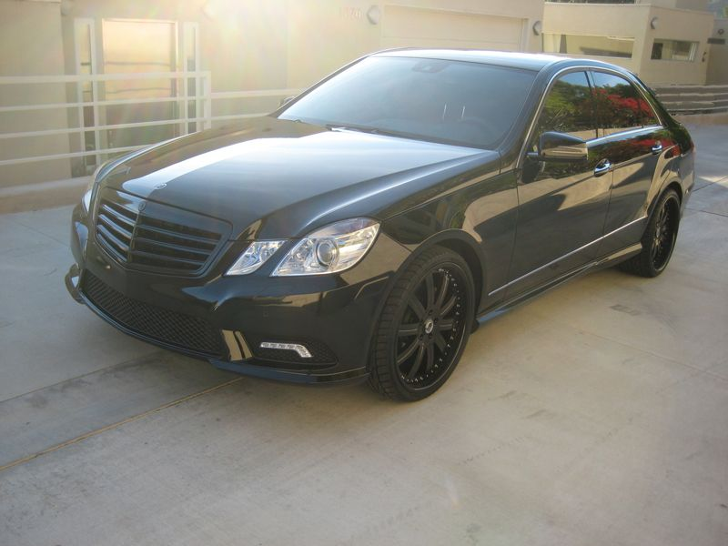Murdered Out Black Mercedes Benz E350 W212 With Images Black