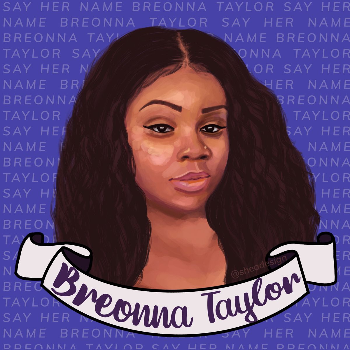 Breonna Taylor In 2020 Black Lives Matter Art Black Women Art Black Lives Matter
