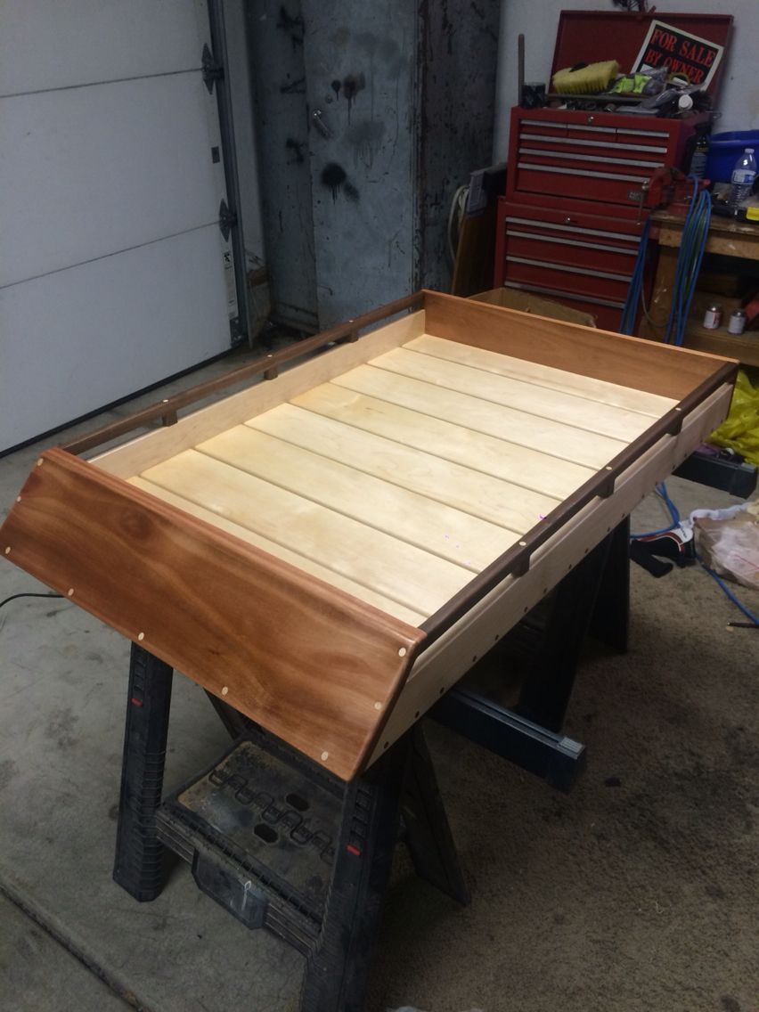 Handmade Wood Roof Rack