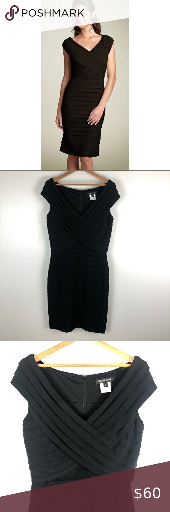 Tadashi Shoji Black Bandage Dress 0689 Bandage Dress Black Bandage Dress Tadashi Shoji Dresses [ 1740 x 580 Pixel ]