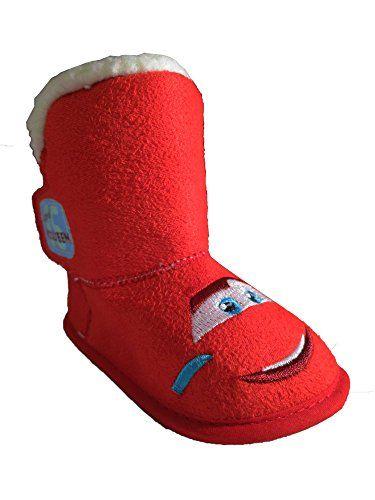 Cars Baby-boys Lightning Mcqueen Red Baby Socks movie