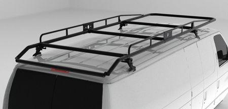 Heavy Duty Material Van Rack With Roller Bar In 2020 Ladder Racks For Vans Roof Racks Rack