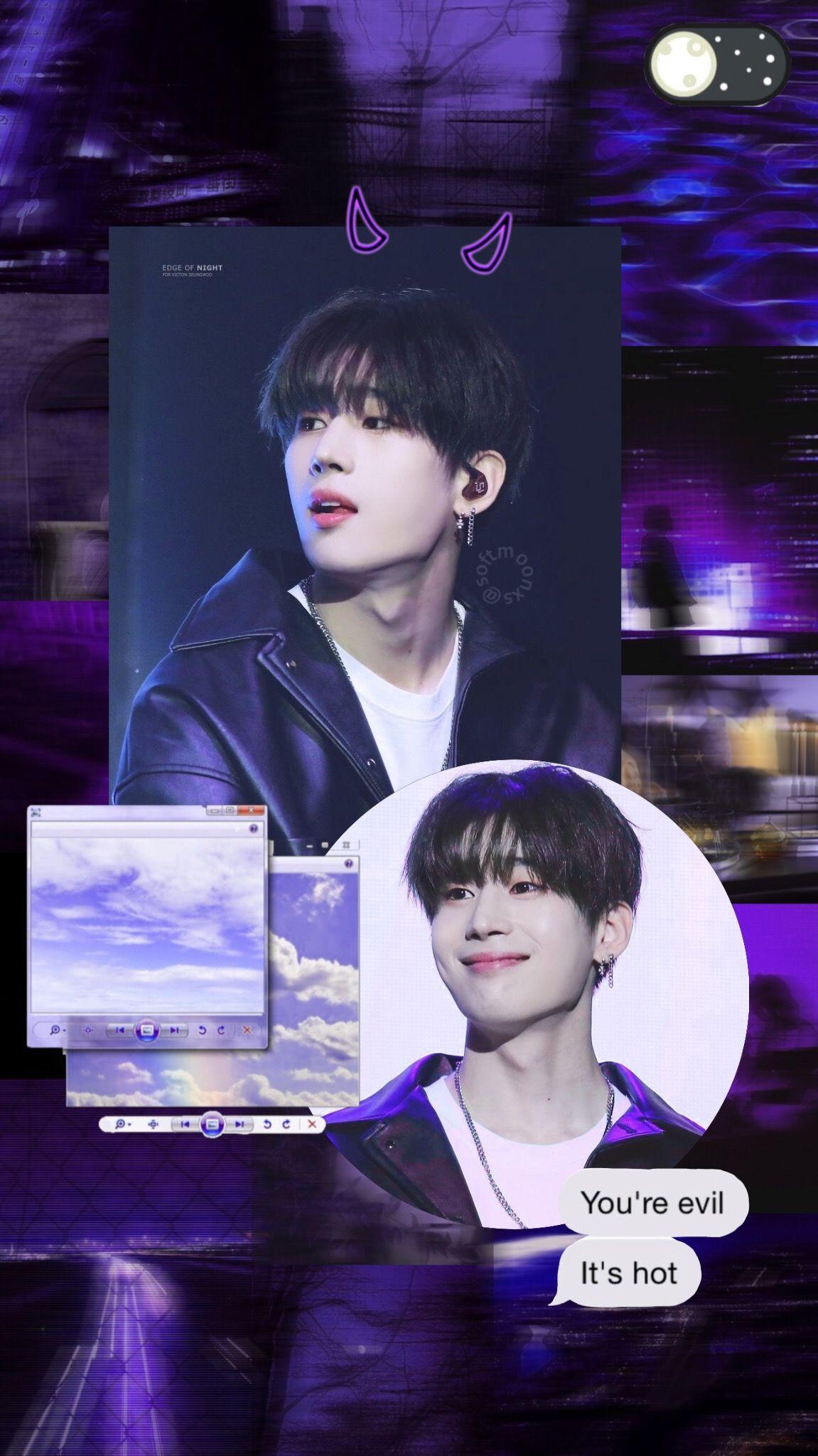 Wallpaper Victon Seungwoo Producex101 Kpop Edit Night