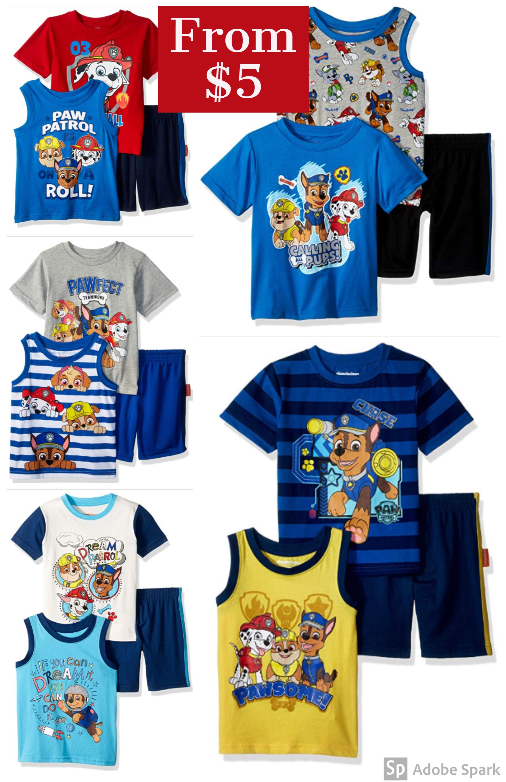Paw Patrol Boys 3 Piece Short Set