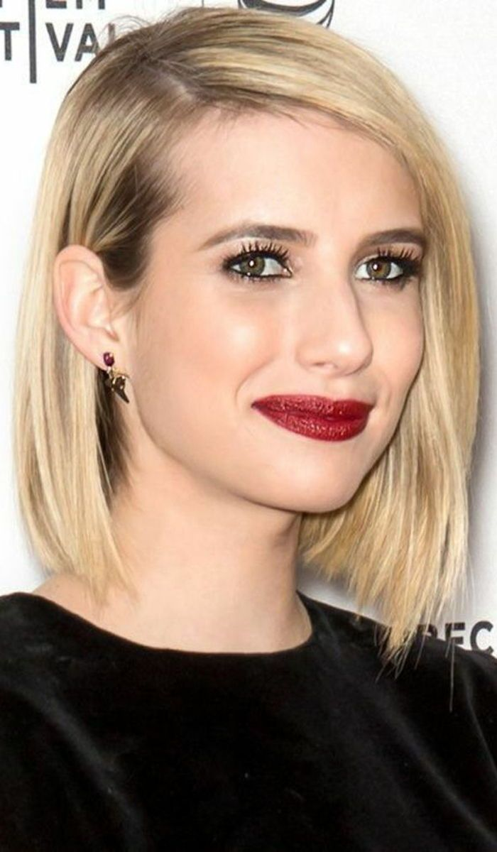 15 Gorgeous Short Straight Hairstyles That Will Inspire You With Images Bobs For Thin Hair Oval Face Hairstyles Haircuts For Fine Hair
