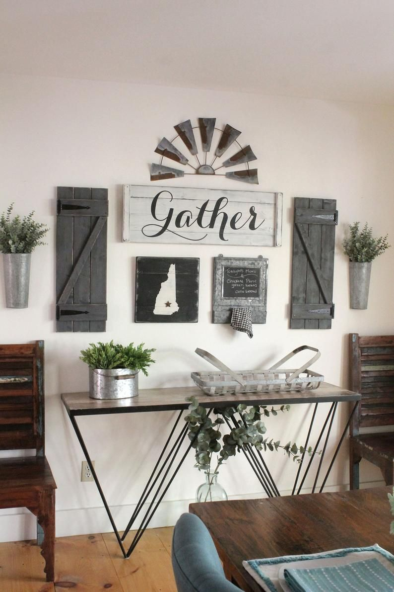 GATHER SIGN SET, 38 pcs, Gallery wall set, Dining room