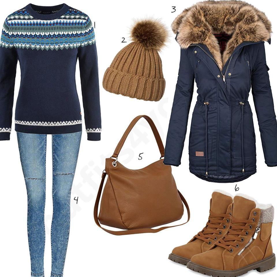 Warmes Winter Outfit mit hohen Rieker Stiefeln | Fashion