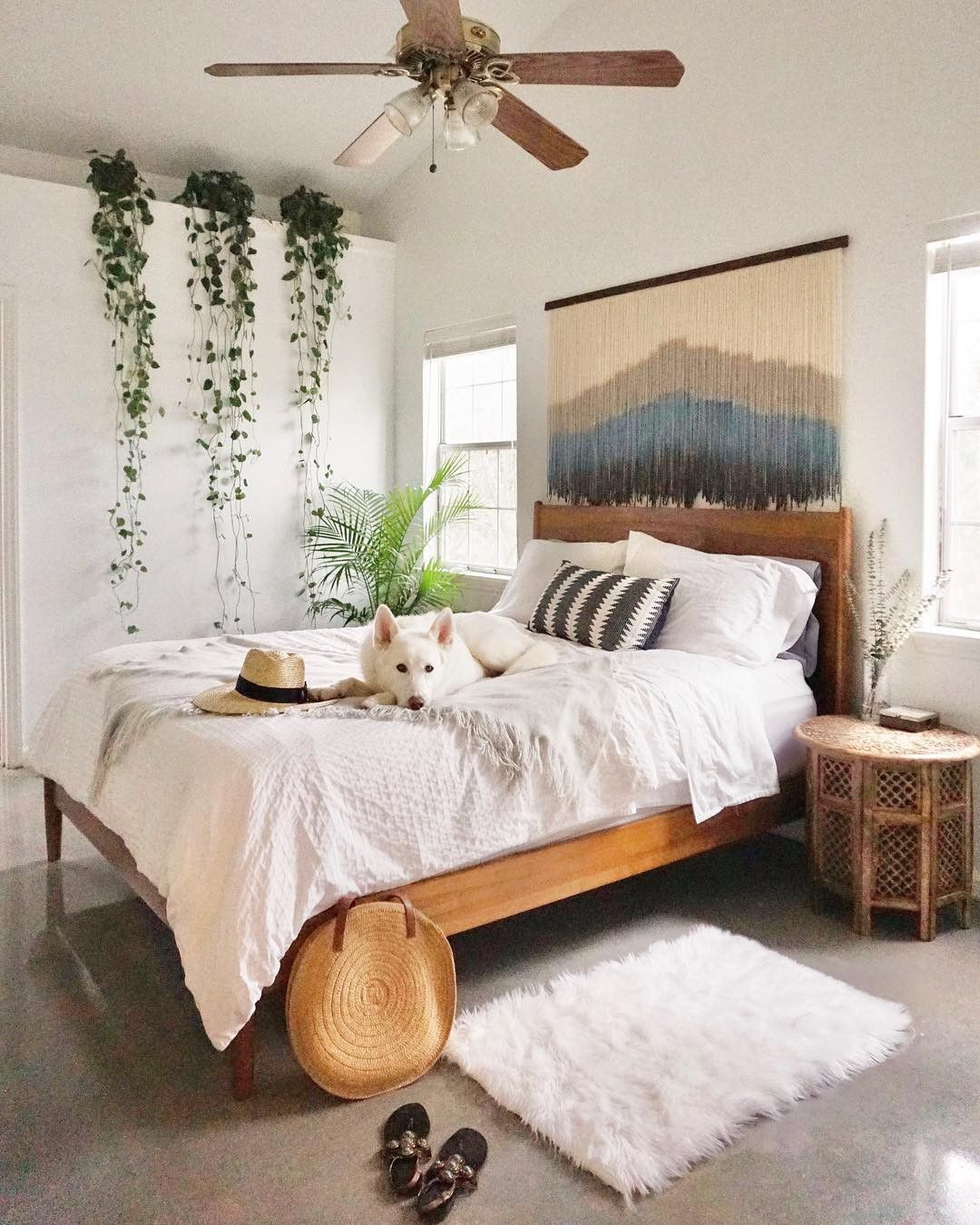 Modern Bohemian Bedroom Decor Ideas  Remodel bedroom, Bedroom