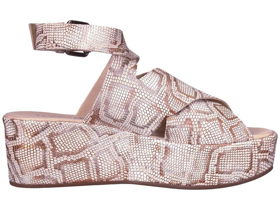 2ae459510cc Matisse Matisse x Amuse Society - Runaway Women s Shoes Natural Metallic  Snake