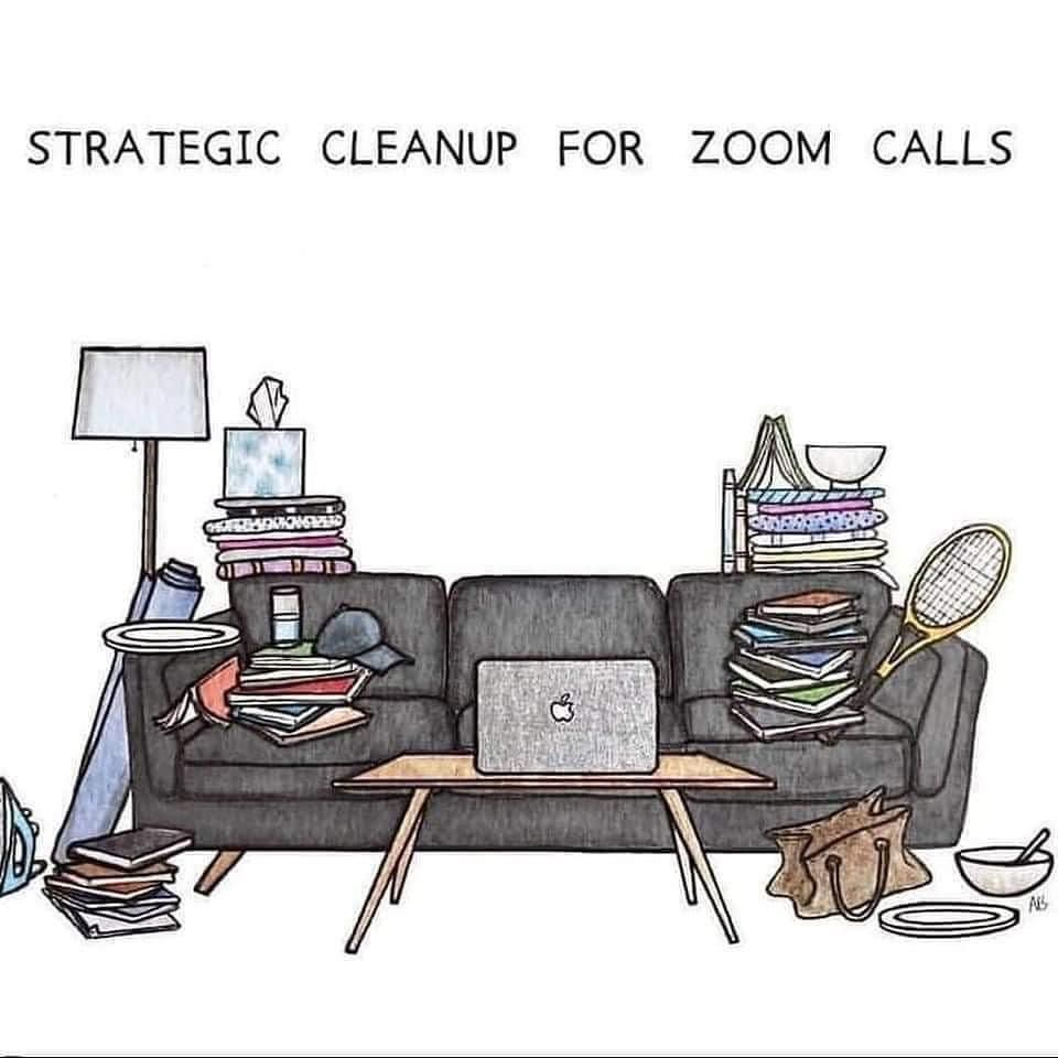Zoom Call Cleanup In 2020 Funny Memes Memes Zoom Call