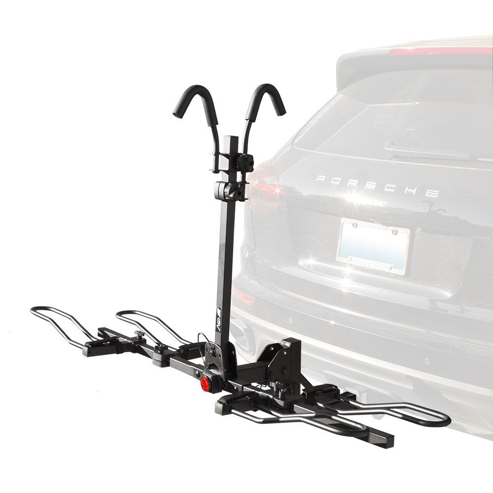 Bv 2 Bike Bicycle Hitch Mount Rack Carrier For Car Truck Suv