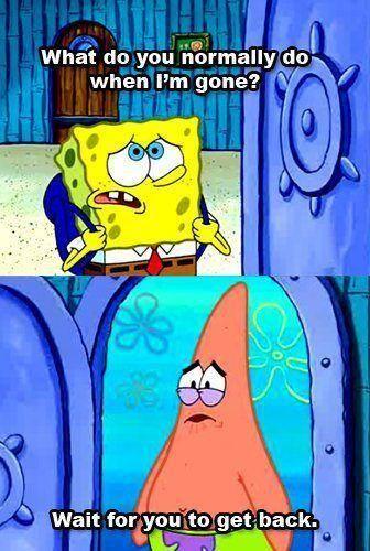 Patrick Loves Spongebob Spongebob Quotes Spongebob Best