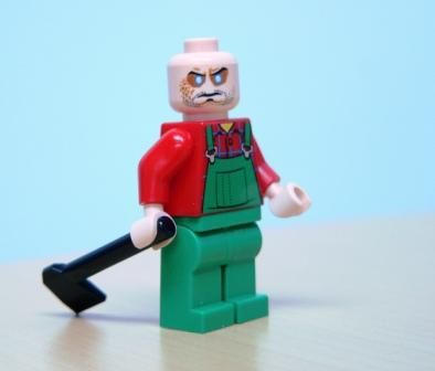 Lego weißes Skelett Overlord Minifigur in weiss Ninjago Ninja Neu Fantasy