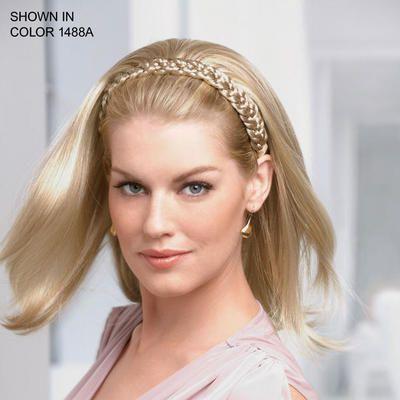 Terrific Braid Headband W Straight Hair By Paula Young Hairpieces Clip Hairstyles For Men Maxibearus