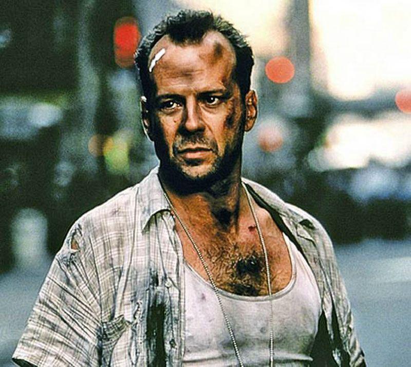 """Bruce Willis en """"Jungla de Cristal. La Venganza"""" (Die Hard with a Vengeance), 1995"""