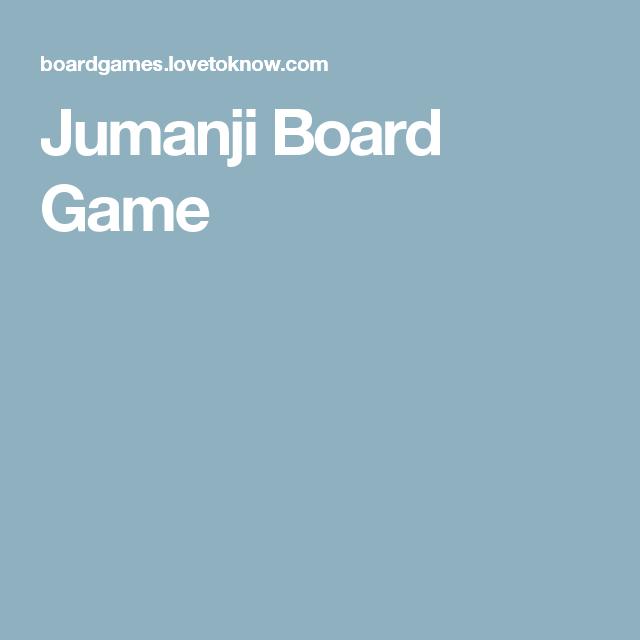 jumanji board game instructions
