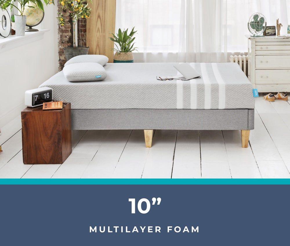 Memory Foam Mattress Cooling Supportive Comfortable Leesa In 2020 Mattress Buying King Size Mattress Mattress