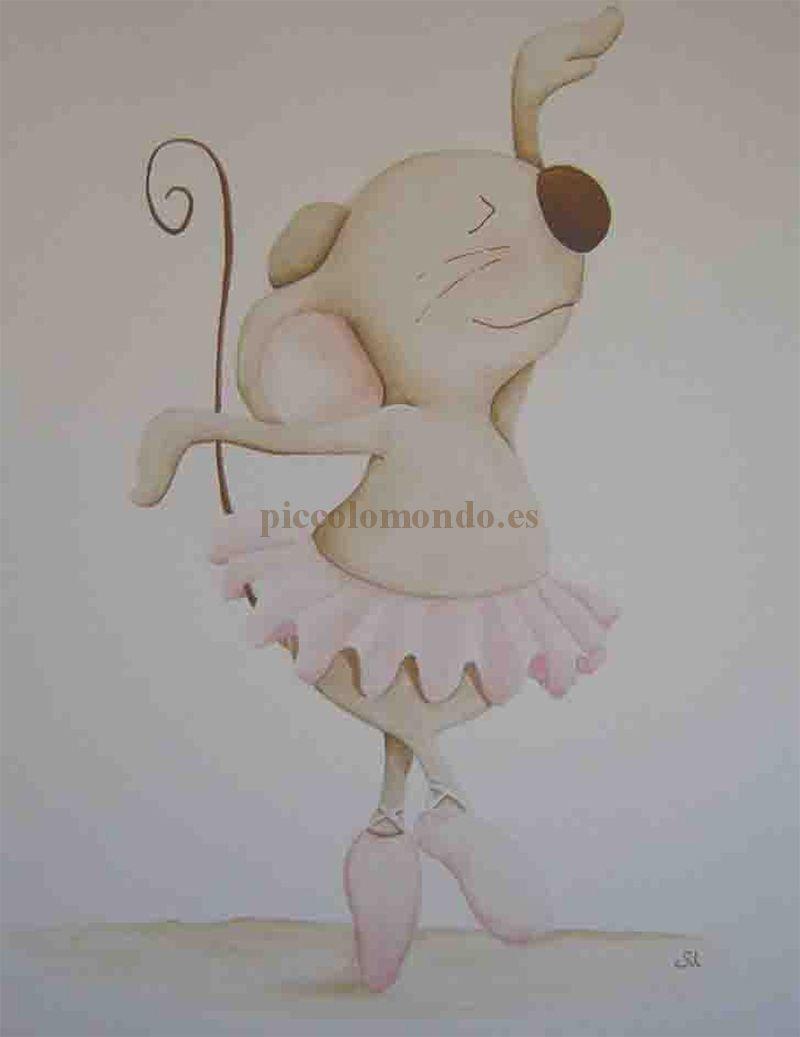 cuadro infantil ratones