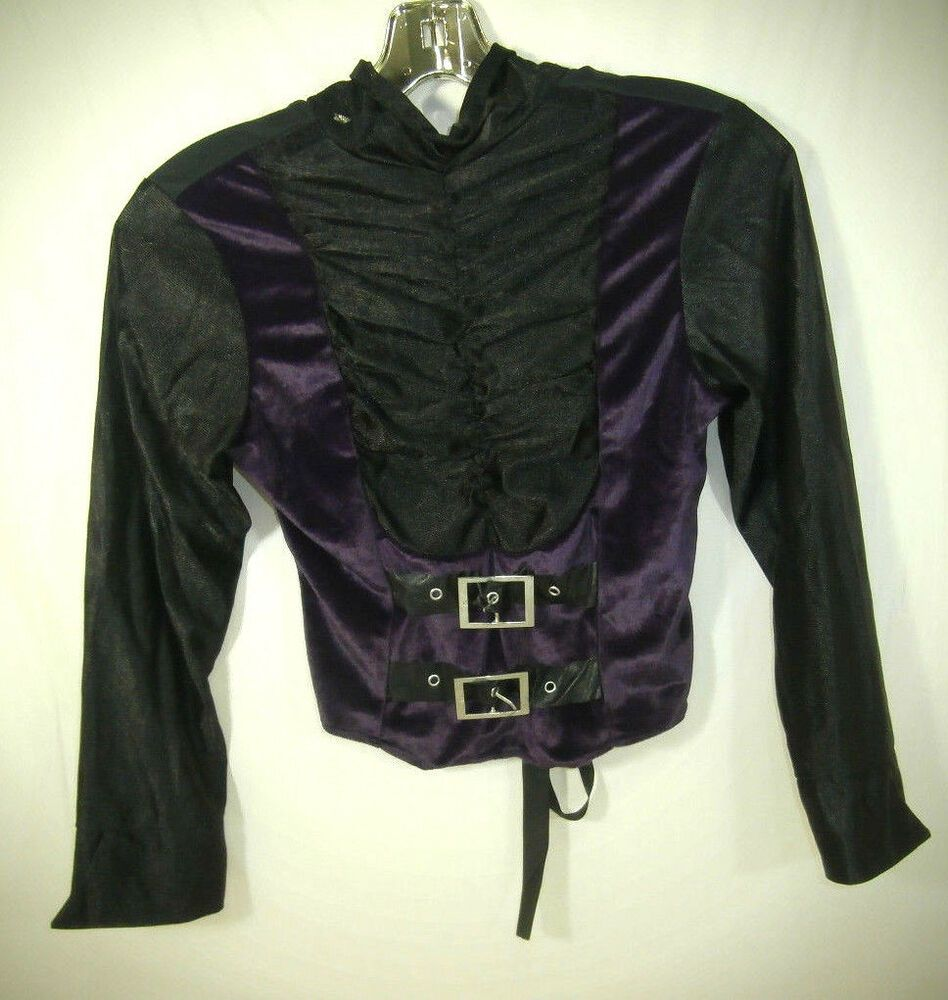 Vampire Boy's Costume Top Size 10/12 fashion clothing