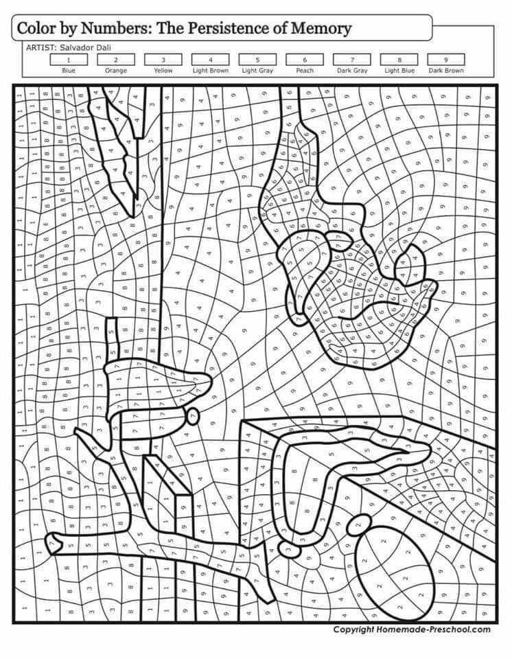 Pin By Julia Laverentz On Cuadros Famous Art Coloring Color Theory Art Abstract Coloring Pages