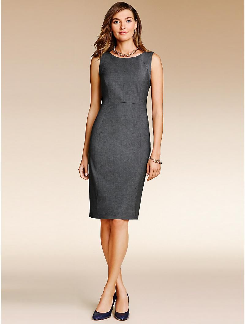Talbots Seasonless Wool Dress Clothes Clothes For Women Dresses [ 1057 x 800 Pixel ]