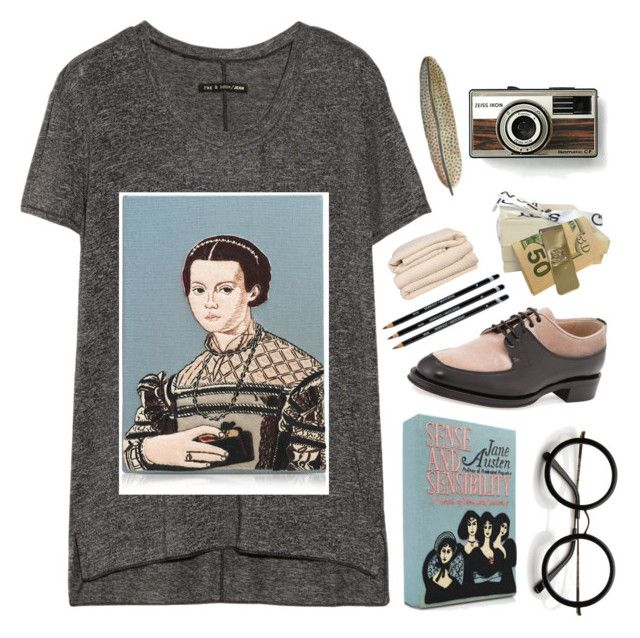 """We all want more than what we've already got."" by anexushill ❤ liked on Polyvore featuring rag & bone, Olympia Le-Tan, ZeroUV, Valentino, Brahms Mount, St. John and Sounds Like Home"