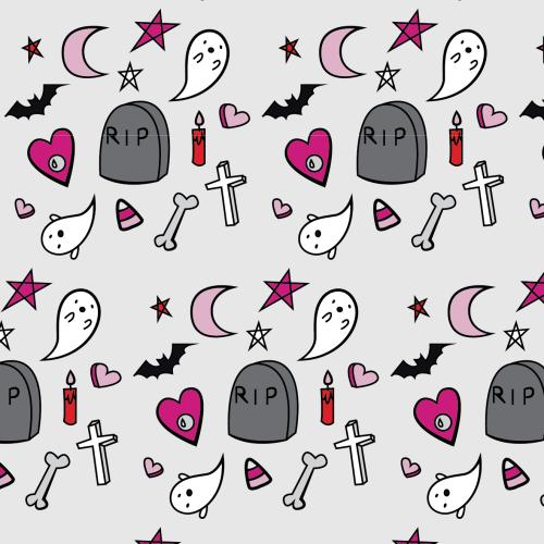 Prouddaydreamer Tumblr Creepy Cute Tumblr Pattern Halloween Wallpaper