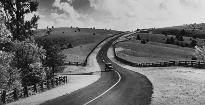 10 Rare Photos Taken During The Blue Ridge Parkway Construction That Will Simply Astound You