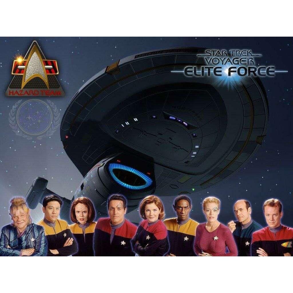 Star Trek Voyager Elite Force | Tv Series | Pinterest | Wallpaper ...
