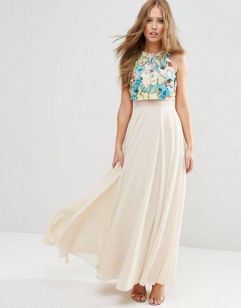 crop tops para bodas | vestido Sandra | Pinterest