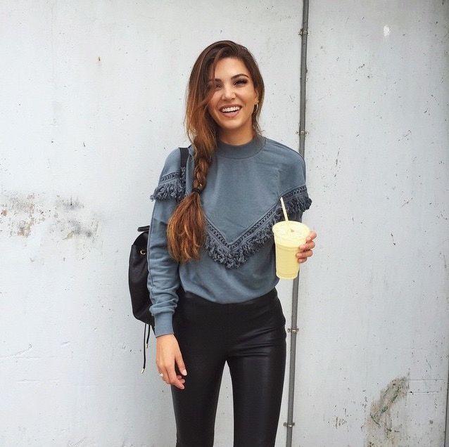 Sweater Inspiration by Negin Mirsalehi.