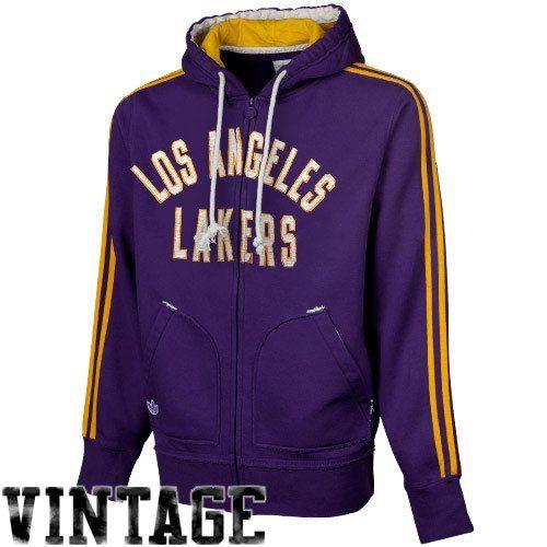 NBA Men s Los Angeles Lakers Originals Springfield Full Zip Hood (Purple 945291a9d