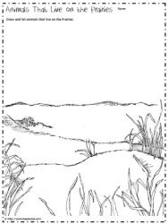 Prairie Animals Worksheet Animal Habitats Animal Worksheets