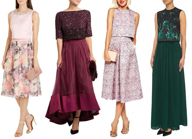 Mix Match Autumn Winter Wedding Guest Outfits