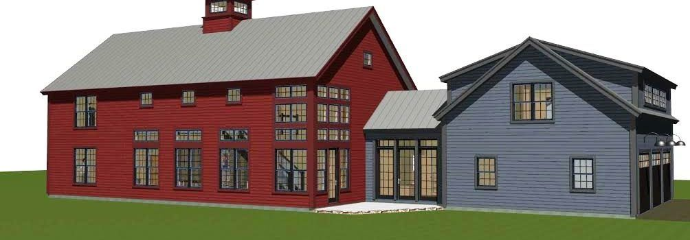 Contemporary Post And Beam The Bancroft Modern Barn House Barn Style House Modern Farmhouse Exterior