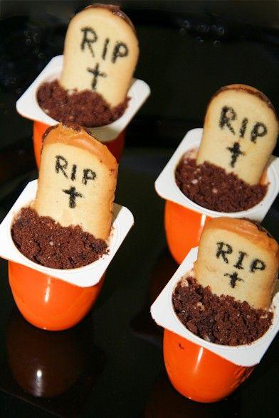 Halloween Rezept Zombie Friedhof Halloween Rezepte Gruseliges