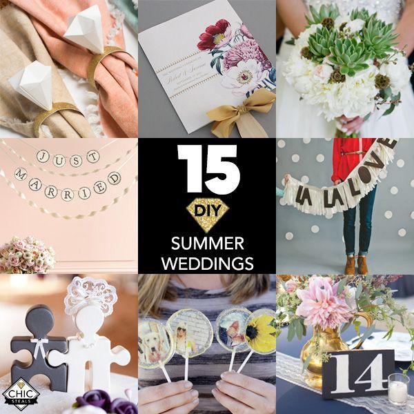15 diy ideas for a do it yourself summer wedding summer weddings 15 diy ideas for a do it yourself summer wedding solutioingenieria Choice Image