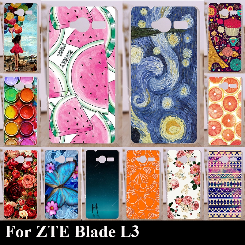 1.17$  Know more - Case For ZTE Blade L3 L 3 Colorful Printing Drawing Transparent Plastic Phone Cover For Soft Silicone tpu mobile Phone Cases   #buyininternet