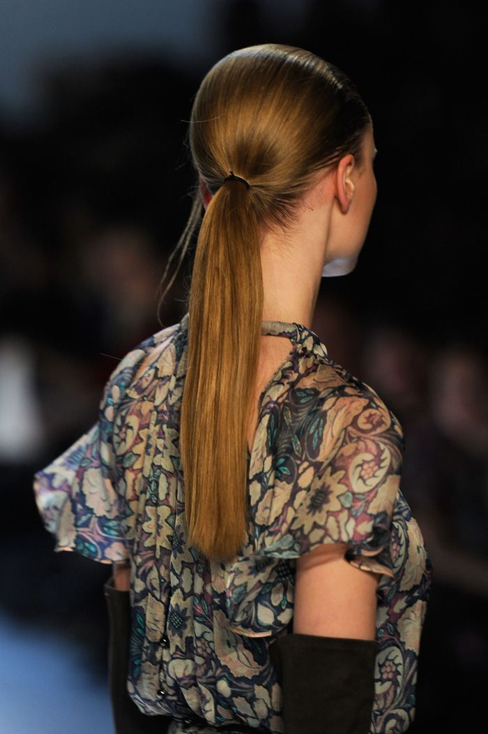 On the runway with #TRESemme at Designer #CharlotteRonson Fall 2012 Show - Mercedes Benz Fashion Week #hair #models #runway #NewYorkFashionWeek #beauty #hairstyling @Mercedes-Benz Fashion Week