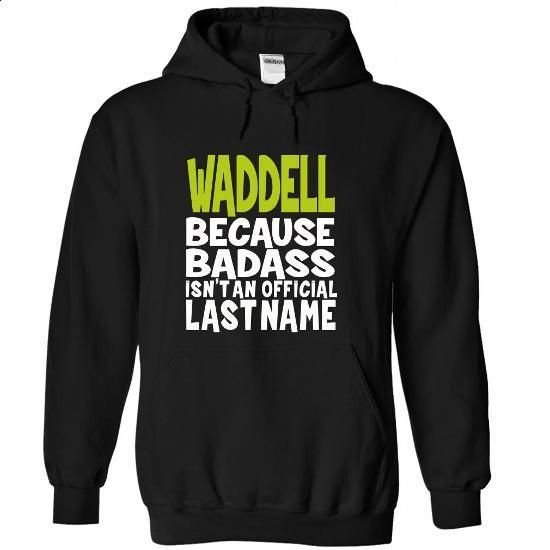 (BadAss) WADDELL - t shirt maker #shirt print #sweatshirt redo