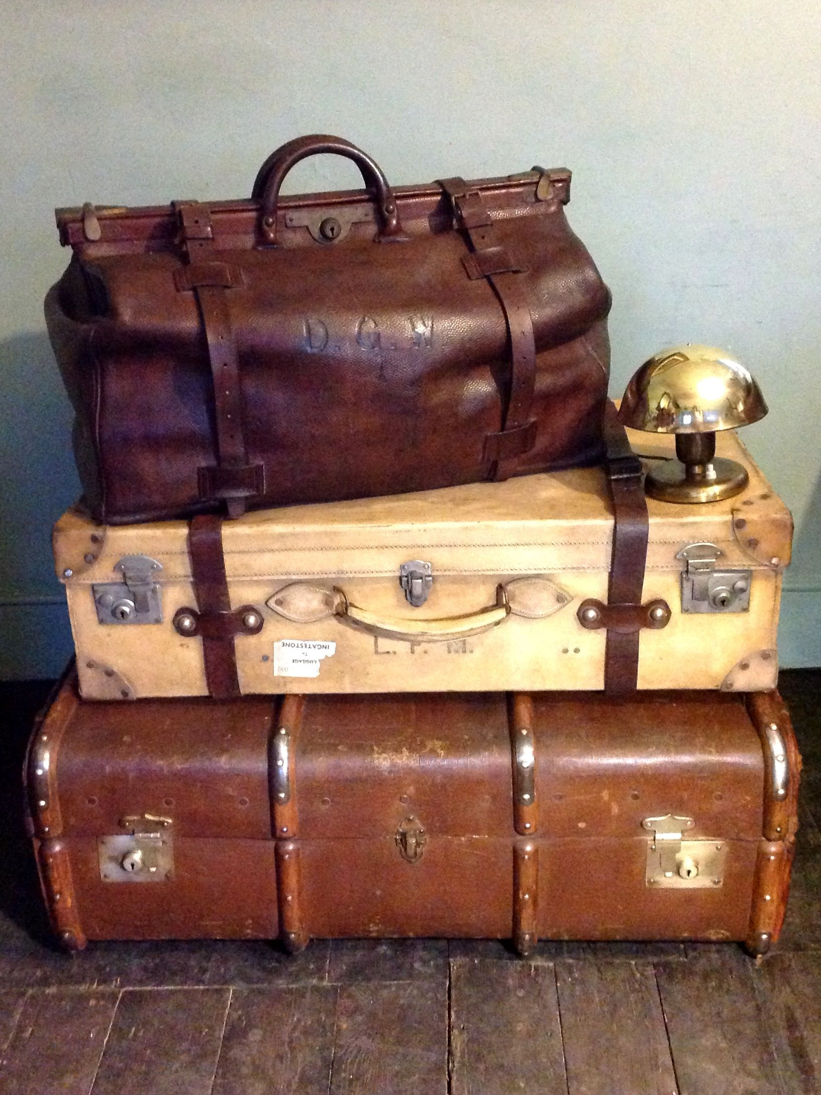 d9cda63c2 We specialise in providing a Selection of 19th Century Victorian Leather  Luggage Travel Cases & Trunks