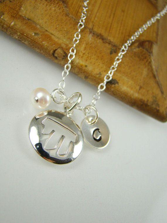 Bat Mitzvah Gift Idea Hanukkah Gift Girl Chai Symbol Necklace
