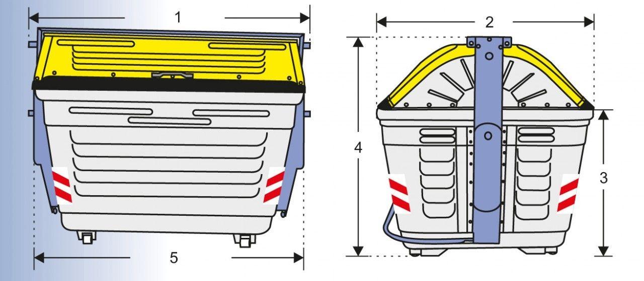 AlproShop.com - CONTENEDOR METÁLICO 2600, Llámanos para obtenerlo 2595-0170 01800-225-7766 (http://www.alproshop.com/contenedor-metalico-2600/)