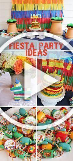 Photo of Fiesta Themed Birthday, Fiesta Party Ideas, Pinata Themed Cake, Pinata themed pa…