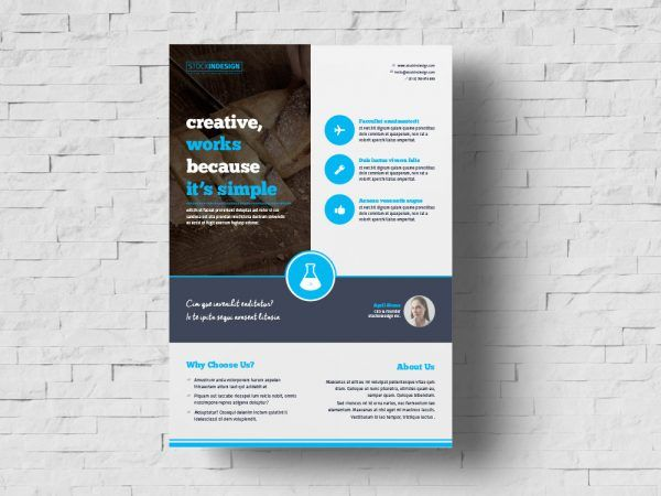 Flyers Layout Template Free from i.pinimg.com