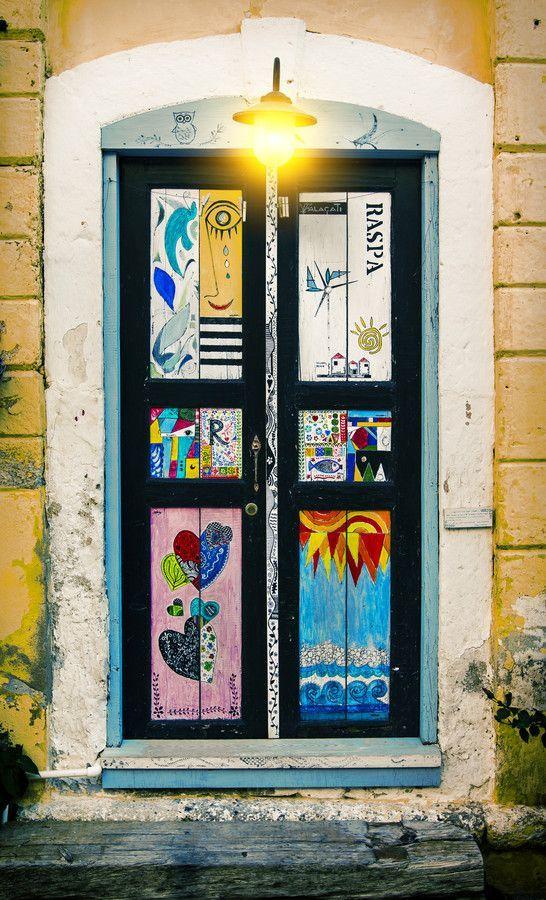 A Jurubeba Cultural: ● Uma visão de Arte ... Uma porta.     IFoto de Refik Özseven)