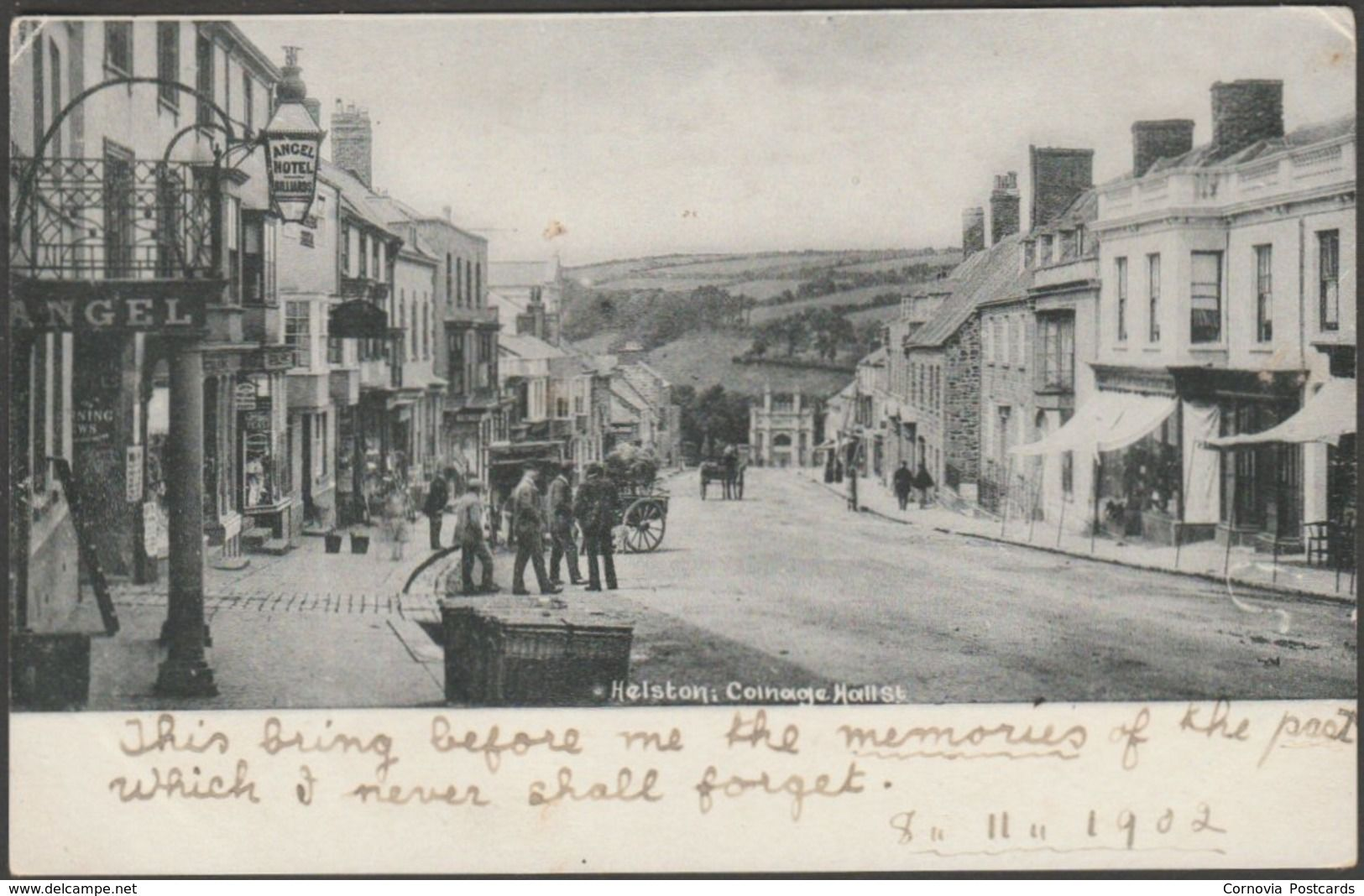 Coinage Hall Street, Helston, Cornwall, 1902 - Frith's